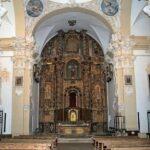 El retablo del Convento de Campillo de Altobuey
